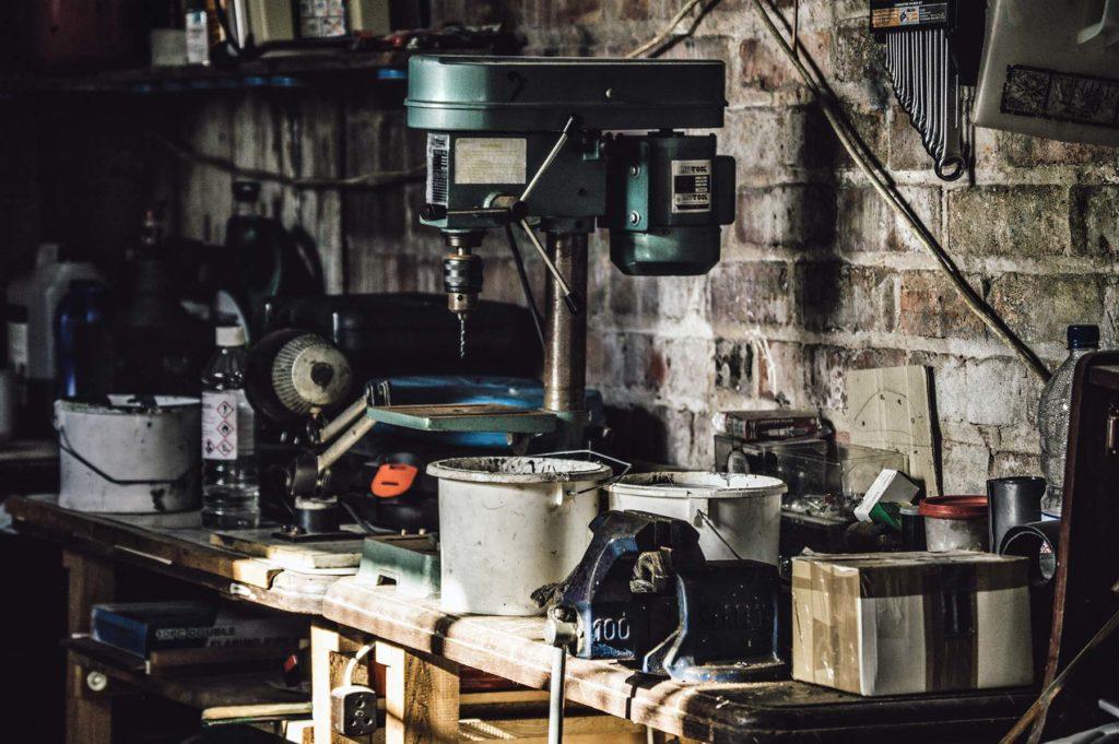 garage woningontruiming