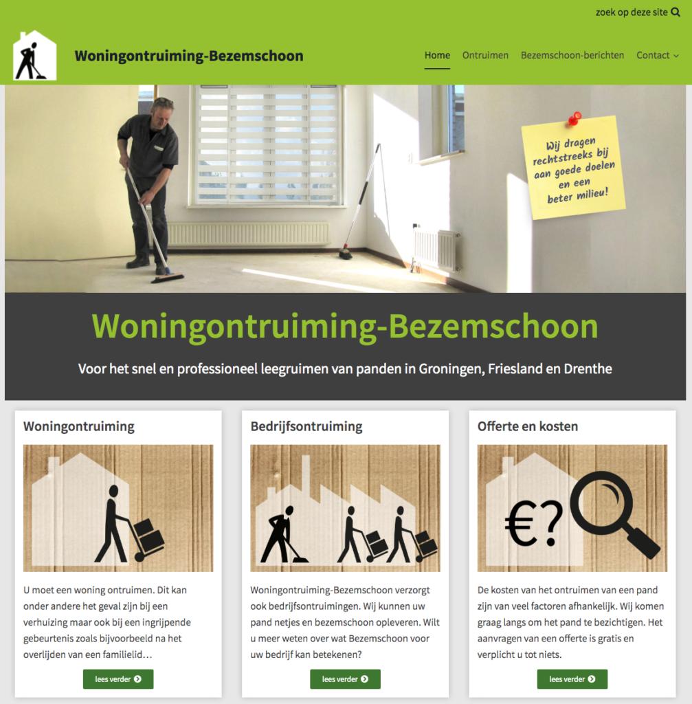 nieuwe website bezemschoon